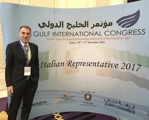 Rappresentante Italiano Camera Commercio Dubai