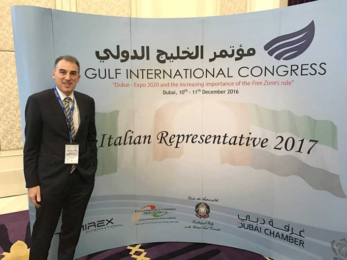 Rappresentante Italiano Camera Commercio Dubai