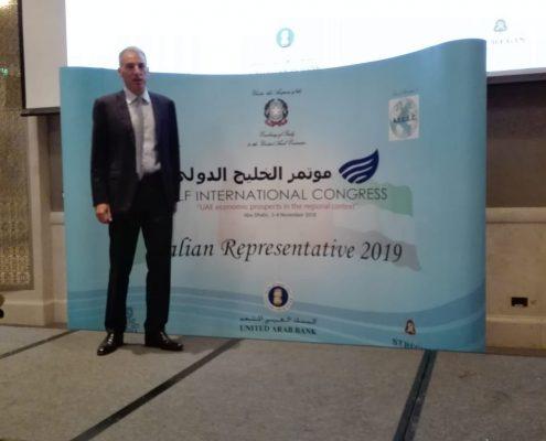 Rappresentante italiano della camera di commercio a dubai 2019 per il terzo anno consecutivo